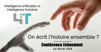 "Conférence : ""Intelligence artificielle VS intelligence humaine"""