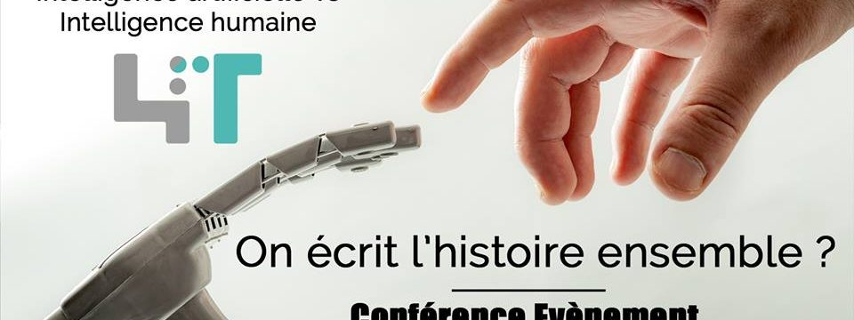 "Conférence : ""Intelligence artificielle VS intelligence humaine"""