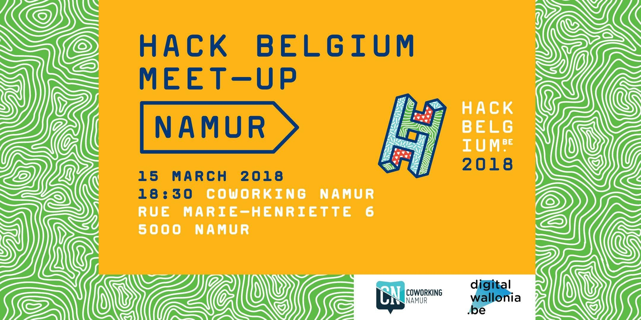Hack Belgium meeting 2018 à Namur